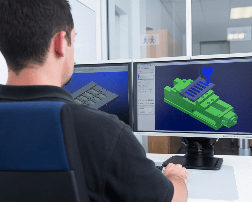 3D programming at ZELTWANGER CNC Manufacturing