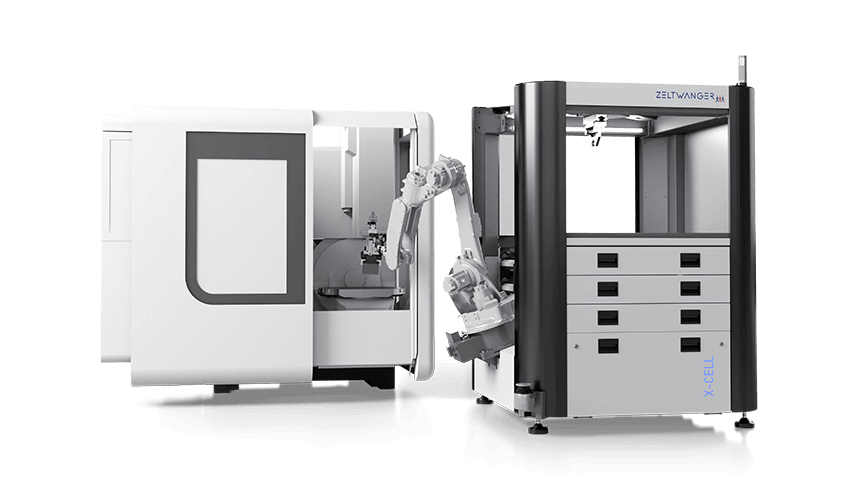 The X-CELL WB from ZELTWANGER – automated machine tool loading